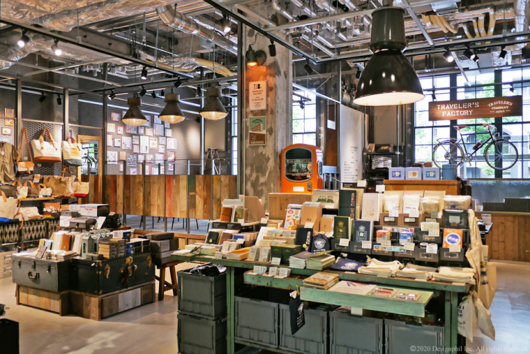 Traveler's factory boutique de Kyoto