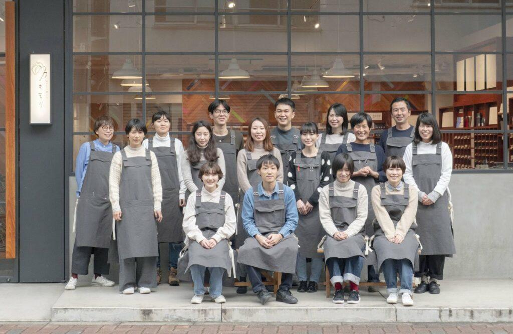 equipe de la boutique kakimori
