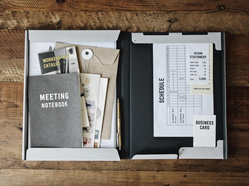 organisation de bureau worker's box