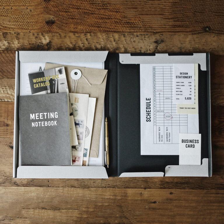 organisez votre worker's box